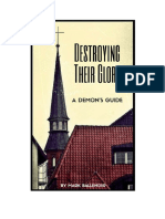 Destroying Their Glory a Demons Guide Mark Ballenger