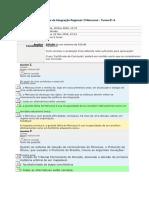 Curso ILB - Mercosul Avaliação 5