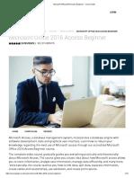Microsoft Office 2016 Access Beginner - Course Gate
