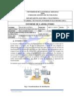 Informe de Dimensionamiento de Transformadores
