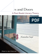 Windows and Doors_ A Poet Reads - Natasha Saje.pdf