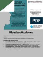 Proyecto Acompañamiento a Las Trayectorias Escolares - 1er Informe