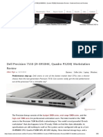 Dell Precision 7530 (i9-8950HK, Quadro P3200) Workstation Review - NotebookCheck.net Reviews