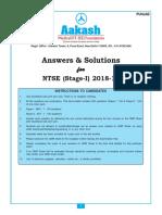 Ntse answers