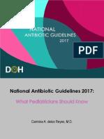 National Antibiotic pedia guidelines