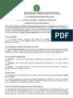 Edital Nº 12 2019 Fortaleza Técnico Integrado
