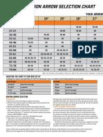 2019 Hunting Shaft Selection Chart0