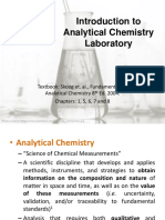 1-Introduction to Analytical Chemistry