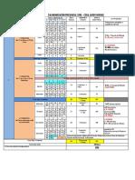 Calendarización Presencial 2019 (2)