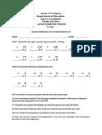 Pt Mathematics 3 q2