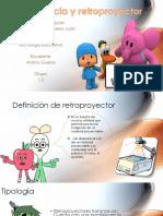 Transparencia y Retropoyector