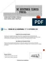 Informe de Auditoria CLINICA FOSCAL