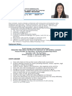 Joyce Agumbay Cv New- As of June 2019