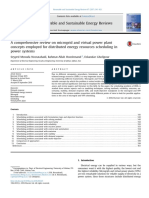 Comprehensive review on microgrid and virtual powerplant concepts
