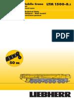 Liebherr LTM1500 8.1