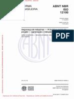 Apreciação e Redução de Riscos NBR-12100