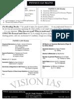 Ias Main Physics Books Plan