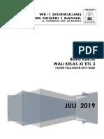 1. Cover Program Kerja Walas