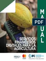 Manual Servicios Financieros Digitales para la Agricultura