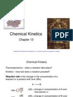 Chapter 13 Kinetics