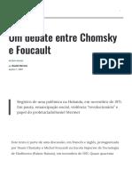 Um Debate Entre Chomsky e Foucault - Le Monde Diplomatique
