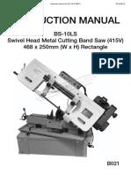 B021 - Instruction Manual