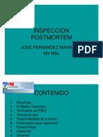 Inspección PostMortem Bovinos