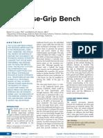 The Close-Grip Bench Press