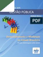 Modulo Basico - Desenvolvimento e Mudancas Estado Brasileiro