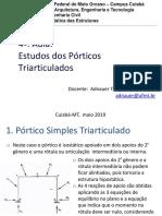 Aula 4_ Estudo Dos Pórticos Triarticulados