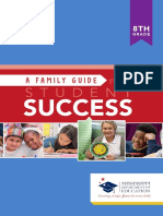 8th grade family guide for success