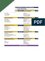Programación y Plan de Menús 22-26 Julio