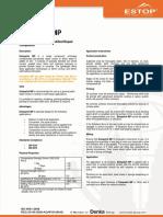 Concrete Repair - Estopatch MP - Data Sheet - 160704