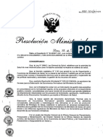 R.M. 850-2016 - MINSA Normas Para La Elaboración de Documentos Normativos Del Ministerio de Salud.