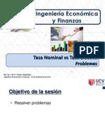 T6.2 INGECO - UCV - Tasa Nominal vs Tasa Efectiva
