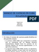 Manejo de Cuencas en Cuba