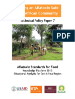 Aflatoxin Standards for Feed