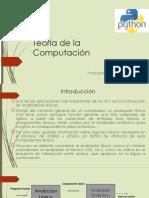 Teoría de La Computación Analizador Lexico