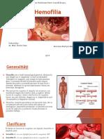 Rolul Asistentului Medical În Îngrijirea Pacientului Cu Hemofilie