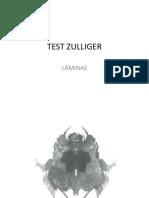 Test Zulliger Láminas