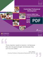 379421 Professional Development Document