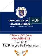 Org and management
