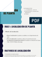 Disposición de Planta PPT PC3