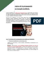 11 Principios de Goebbels.
