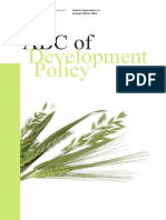 ABC of Development Policy