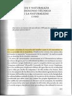 ARTE Y NATURALEZA (EL DOMINIO TÉCNICO DE LA NATURALEZA) (1980)