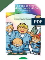 GUIA PARA EL NIÑO TRASPLANTADO DE RIÑÓN Y SU FAMILIA