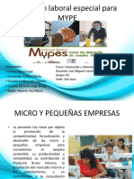 Regimen de la MYPES - 2019