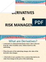 1. Derivatives & Risk Management
