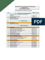 Protocolo Control Calidad Estructura Metalica